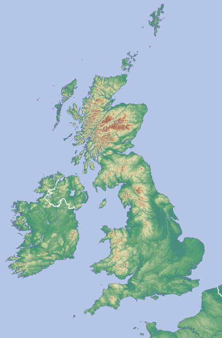 Map Of Uk Hills And Mountains.Hill Bagging